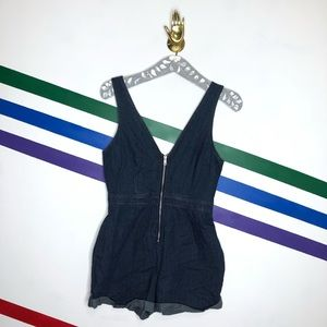 NEW Urban Outfitters zipper romper